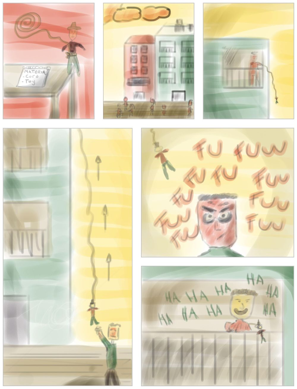 Childhood memory + Digital painting - image 2 - student project