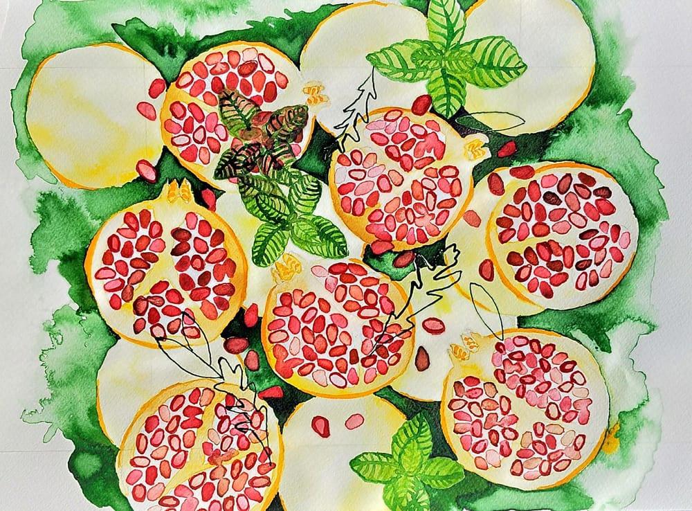 Pomegranates - image 2 - student project