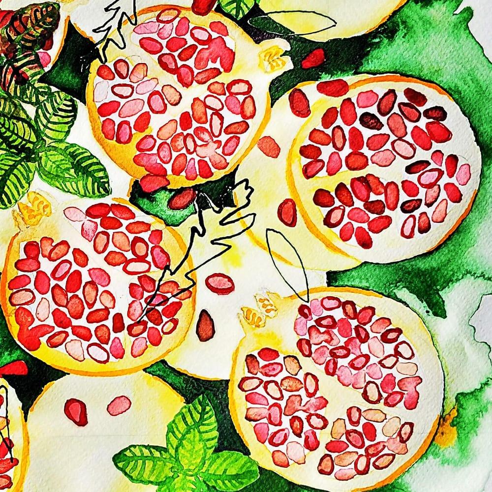 Pomegranates - image 1 - student project
