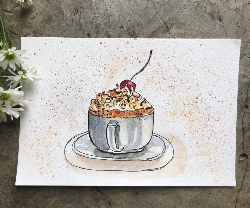 Good easy watercolor paintings - image 2 - student project