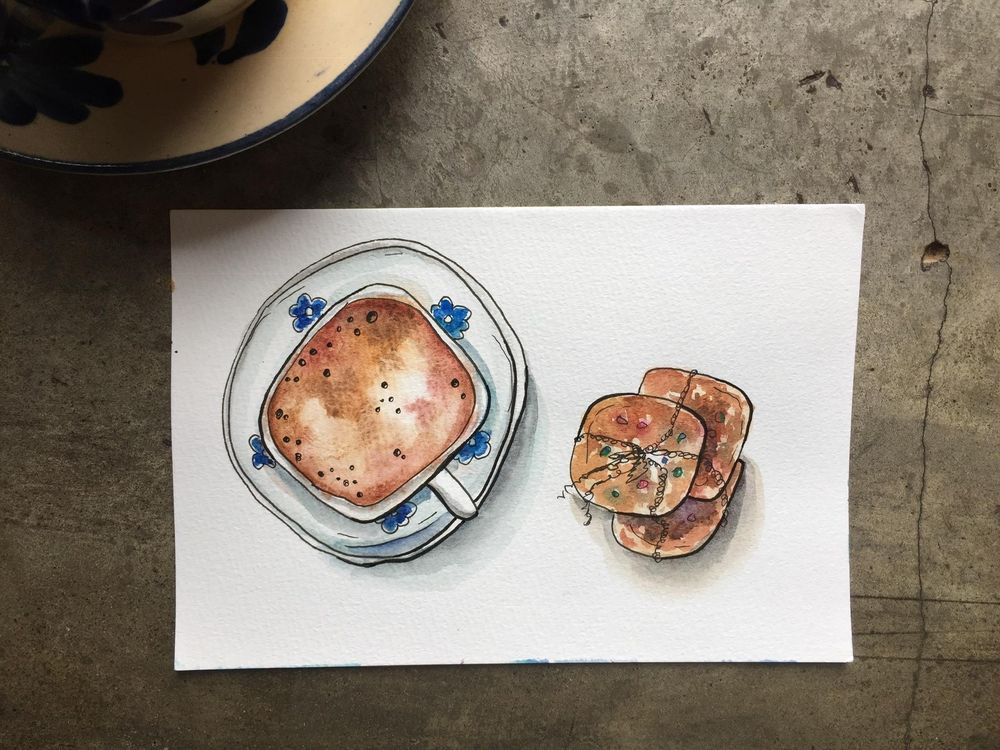 Good easy watercolor paintings - image 1 - student project