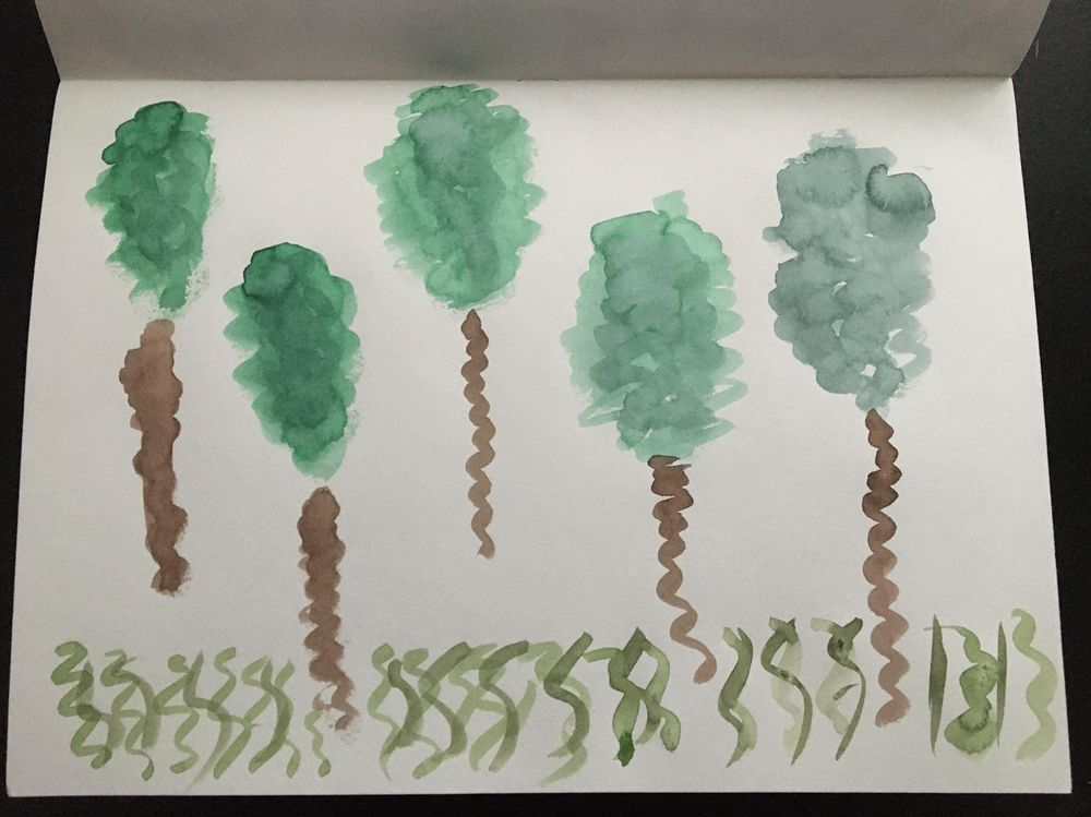 Having fun with watercolour - image 5 - student project