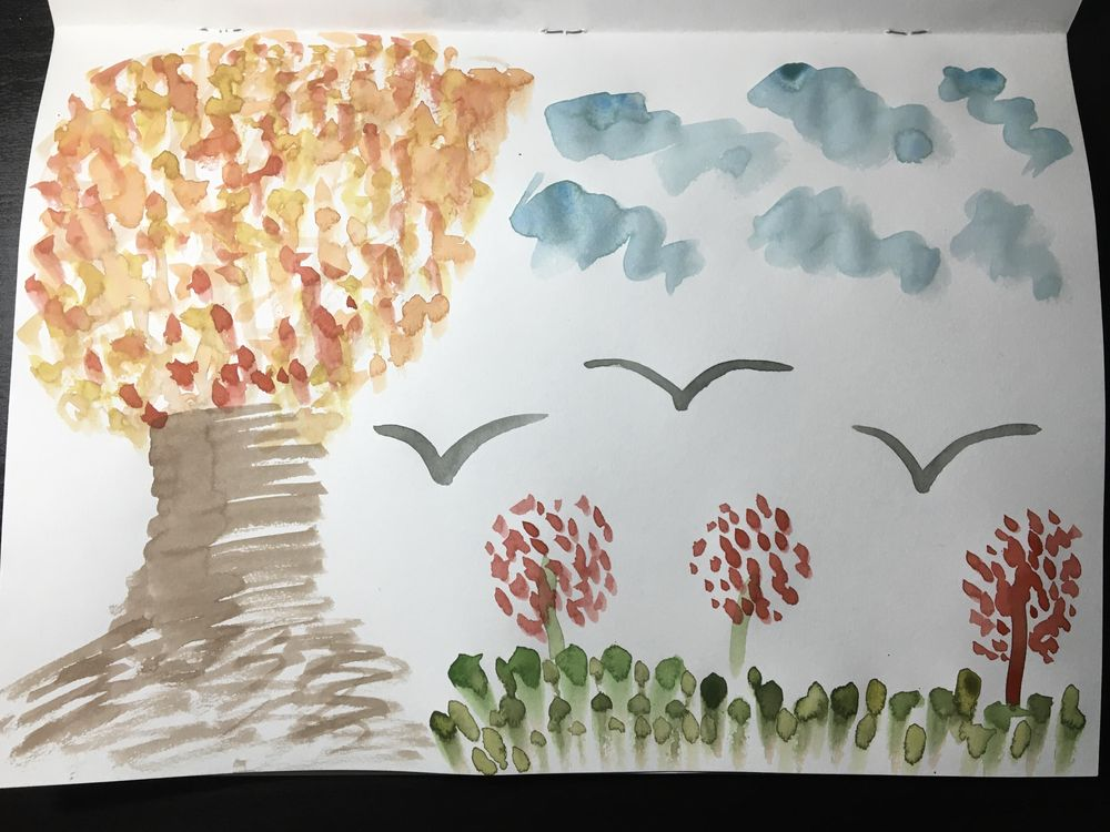 Having fun with watercolour - image 4 - student project