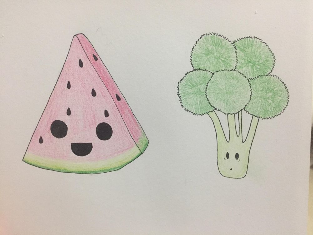 My try at cute drawings :) - image 2 - student project