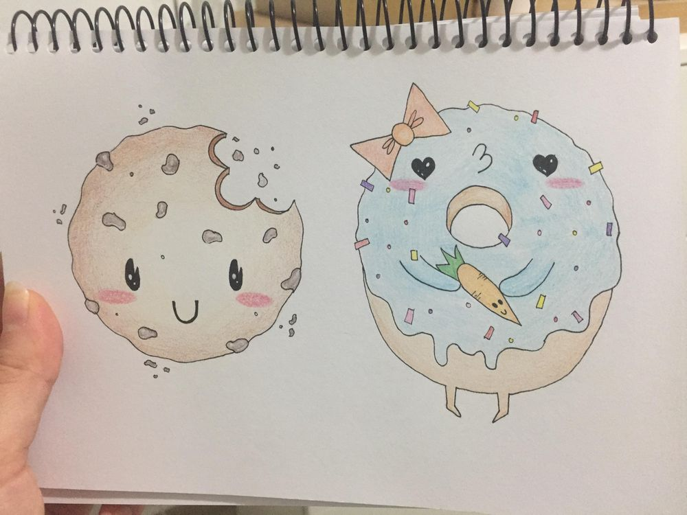 My try at cute drawings :) - image 1 - student project