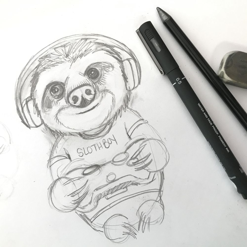 Gamer Slothboy - image 2 - student project