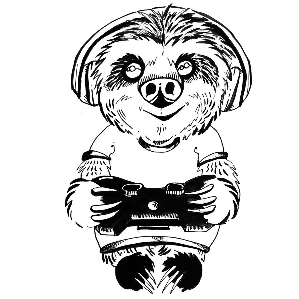 Gamer Slothboy - image 3 - student project