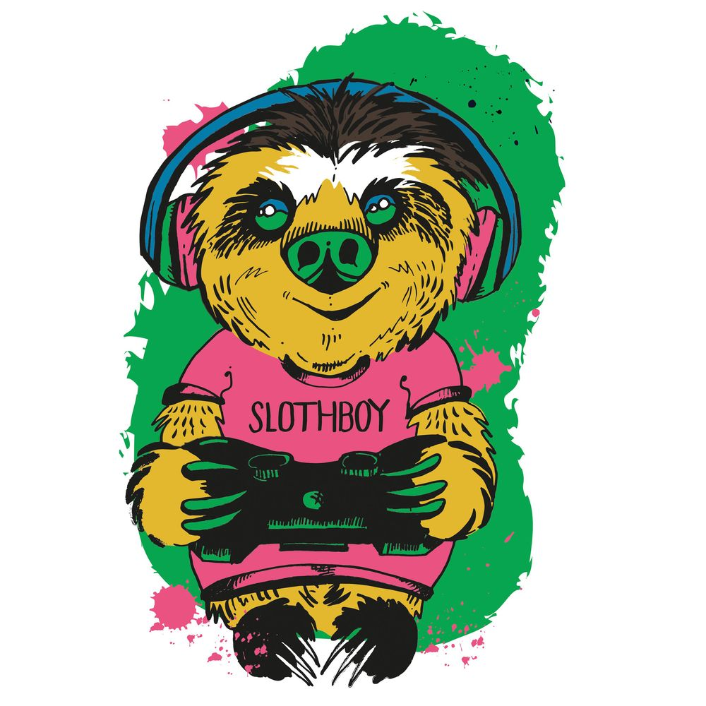 Gamer Slothboy - image 4 - student project