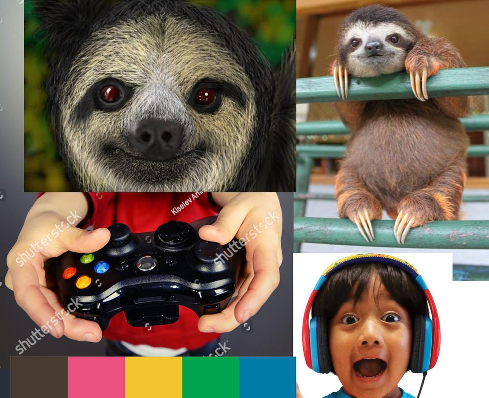 Gamer Slothboy - image 1 - student project