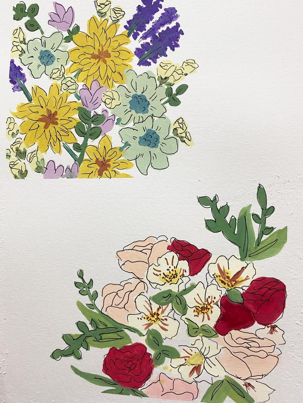 Wildflower bouquets - image 1 - student project