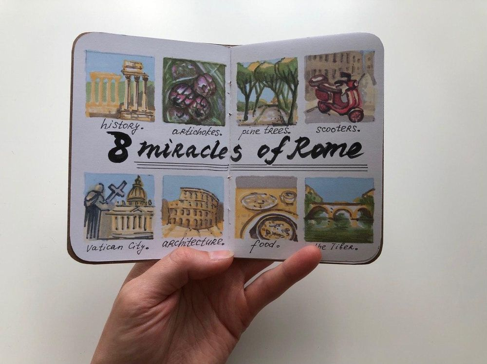 Roma Sketchbook - image 2 - student project