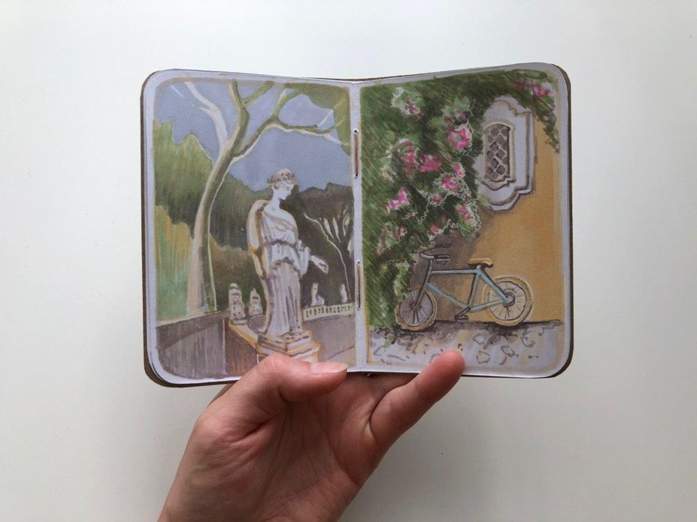Roma Sketchbook - image 4 - student project