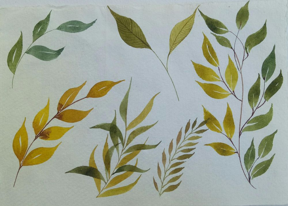 painting leaves - image 2 - student project