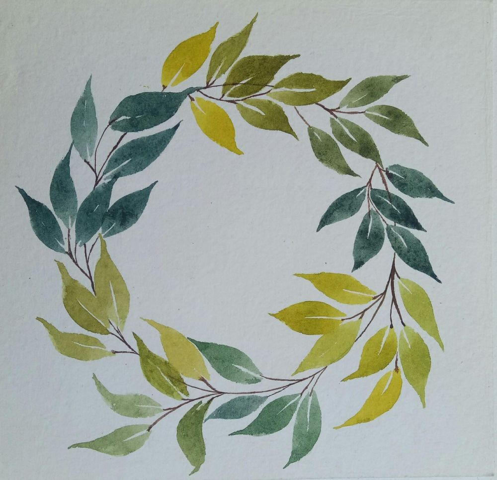 painting leaves - image 3 - student project