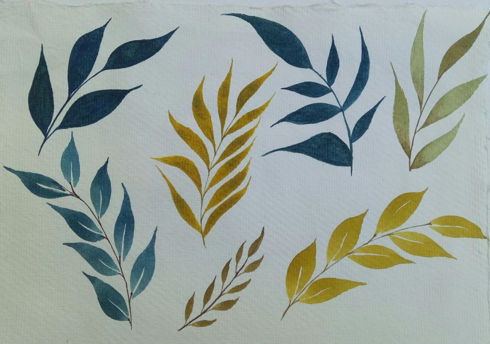 painting leaves - image 1 - student project