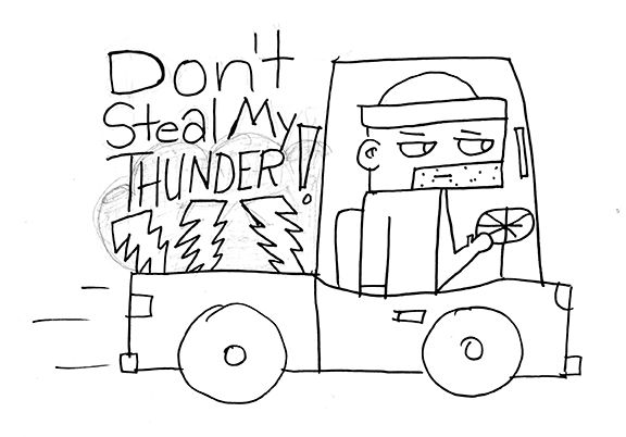 Steal Someone's Thunder - image 4 - student project