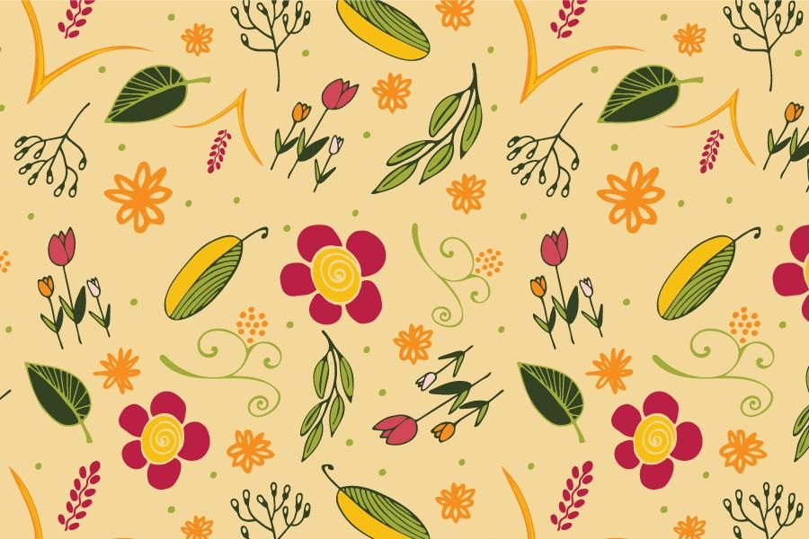 My surface pattern design - image 3 - student project