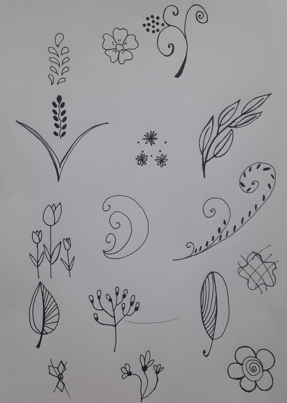 My surface pattern design - image 1 - student project