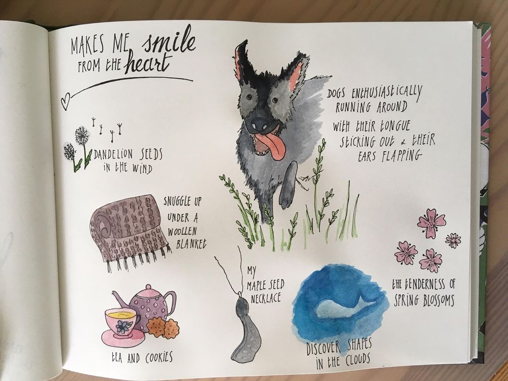 Things that make me smile from the heart - image 1 - student project