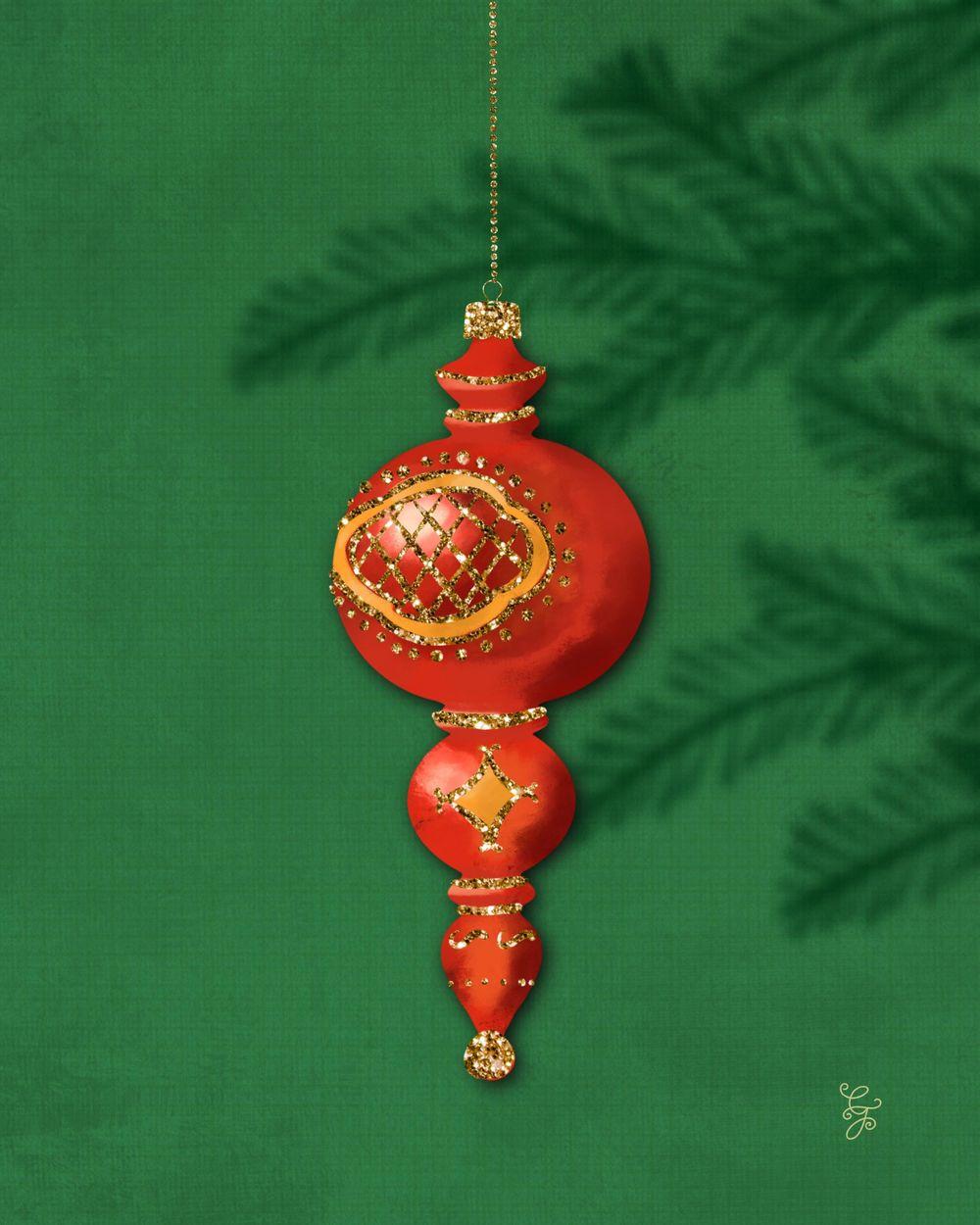 Ornaments went #ipadvintageornaments - image 5 - student project