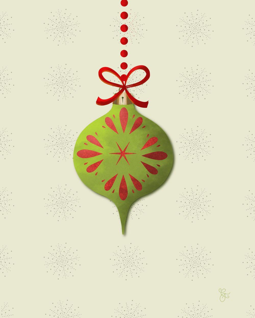 Ornaments went #ipadvintageornaments - image 6 - student project