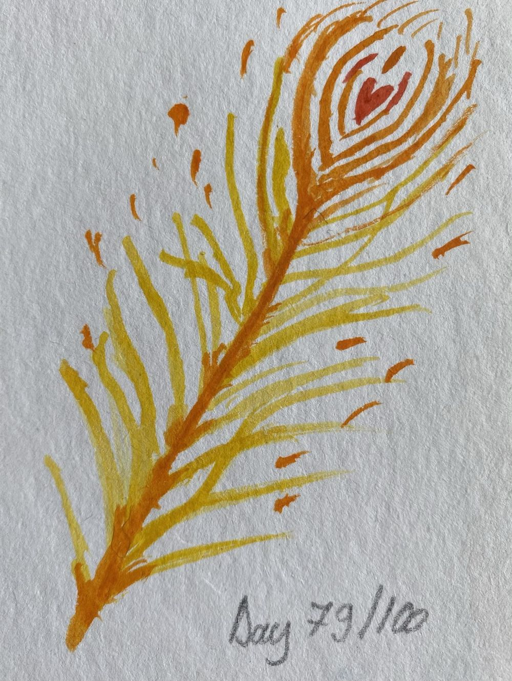 100 Day Watercolor Challenge - image 79 - student project