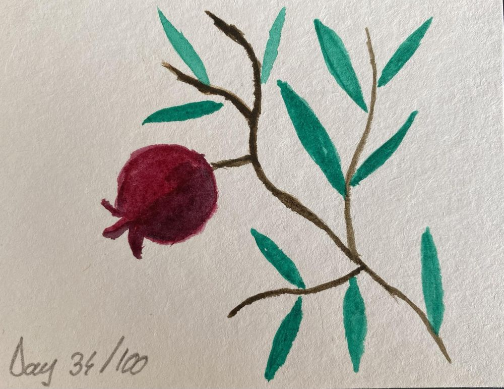 100 Day Watercolor Challenge - image 34 - student project