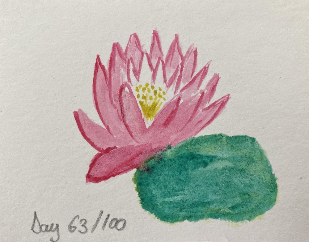 100 Day Watercolor Challenge - image 63 - student project