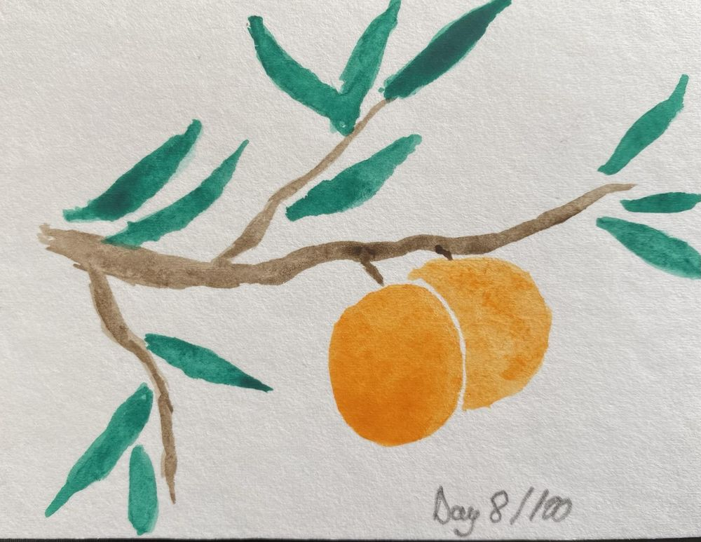 100 Day Watercolor Challenge - image 8 - student project