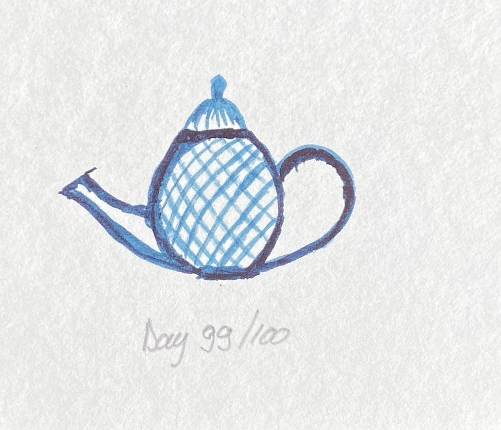 100 Day Watercolor Challenge - image 99 - student project