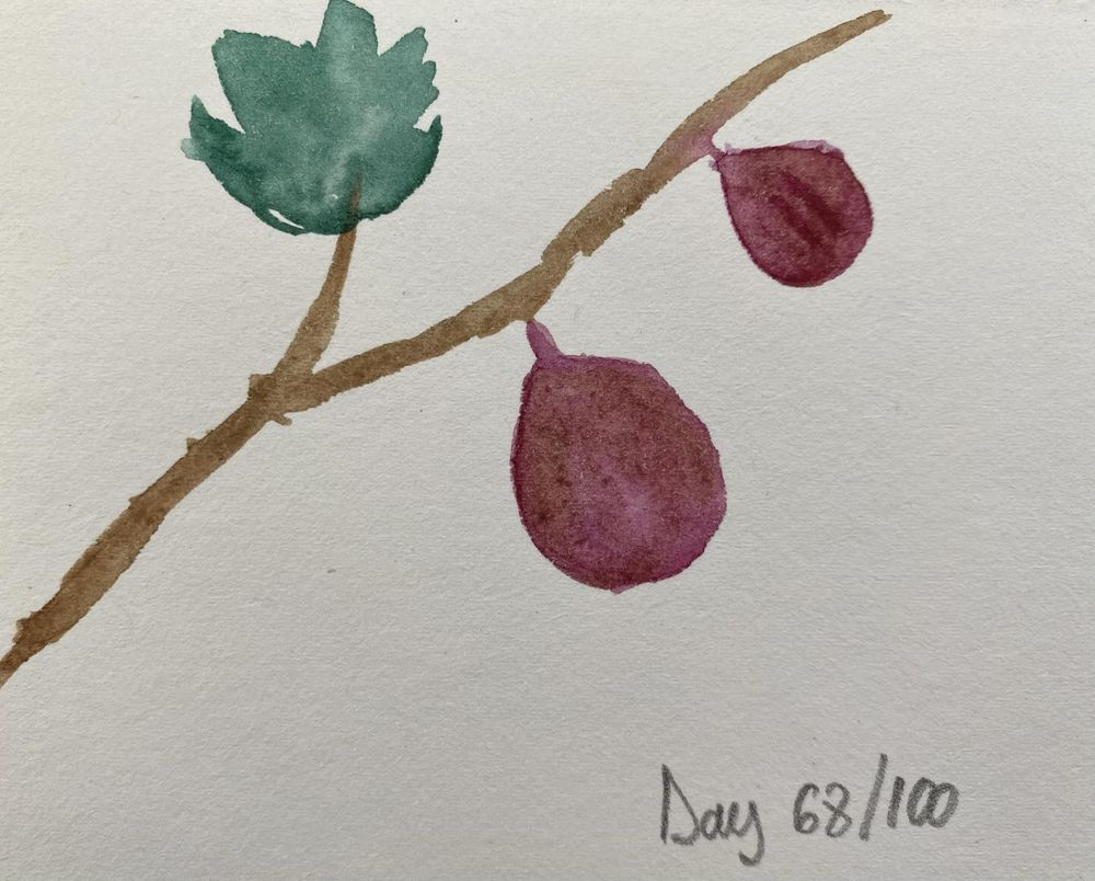 100 Day Watercolor Challenge - image 68 - student project