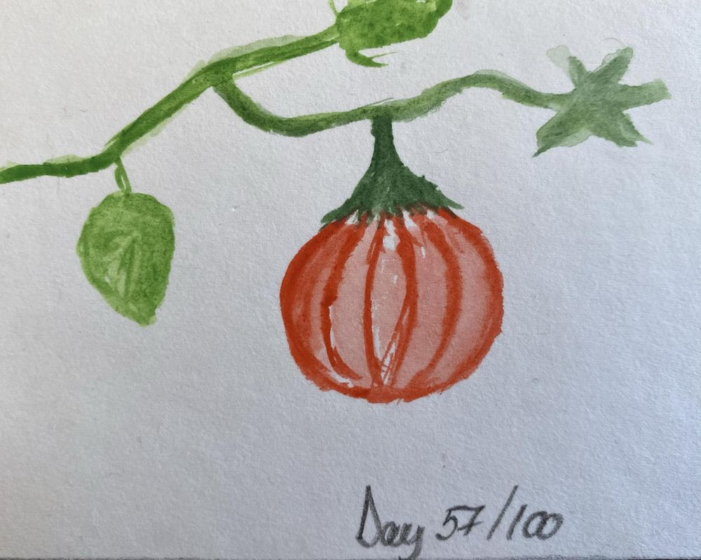 100 Day Watercolor Challenge - image 57 - student project
