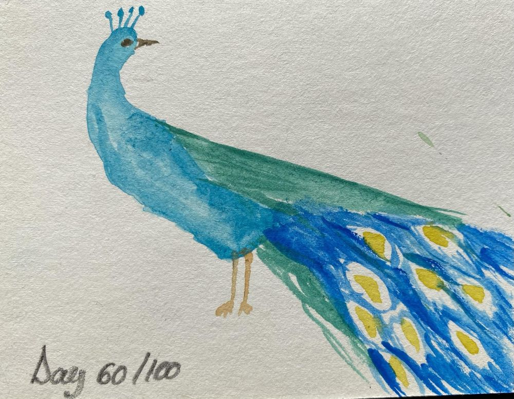 100 Day Watercolor Challenge - image 60 - student project