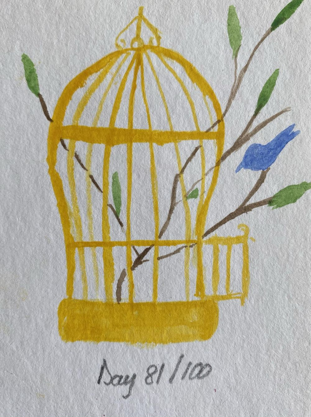 100 Day Watercolor Challenge - image 81 - student project