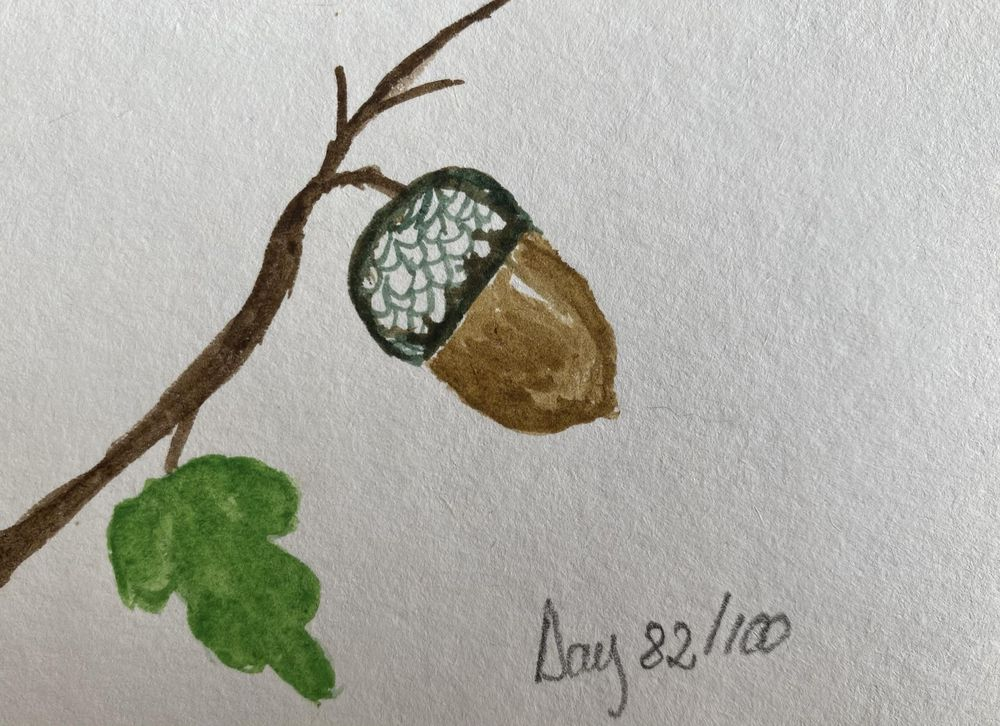 100 Day Watercolor Challenge - image 82 - student project