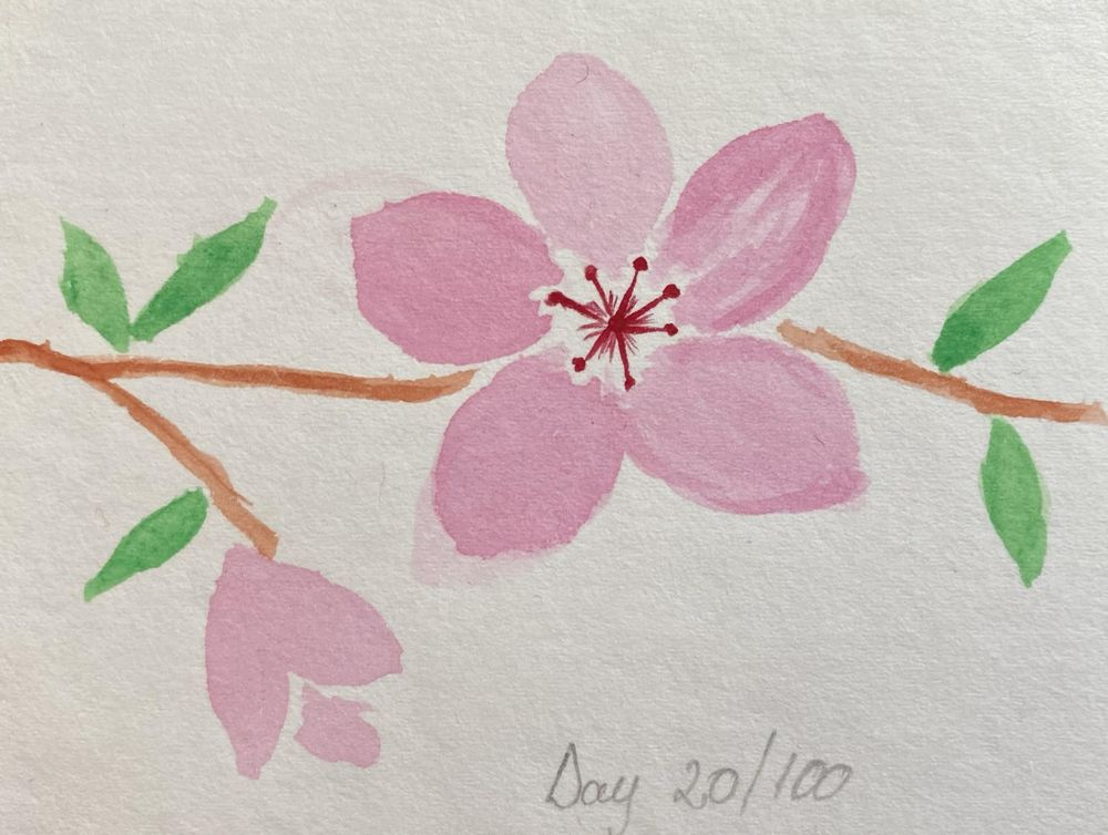 100 Day Watercolor Challenge - image 20 - student project