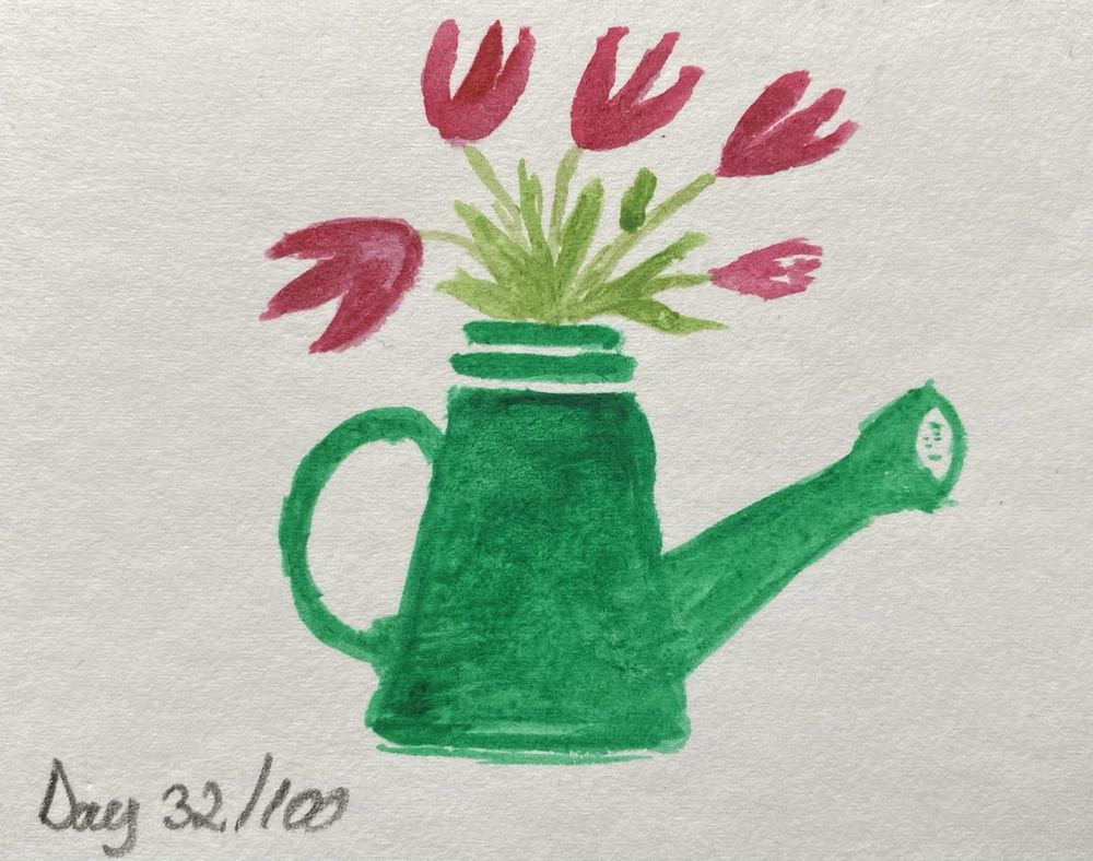 100 Day Watercolor Challenge - image 32 - student project