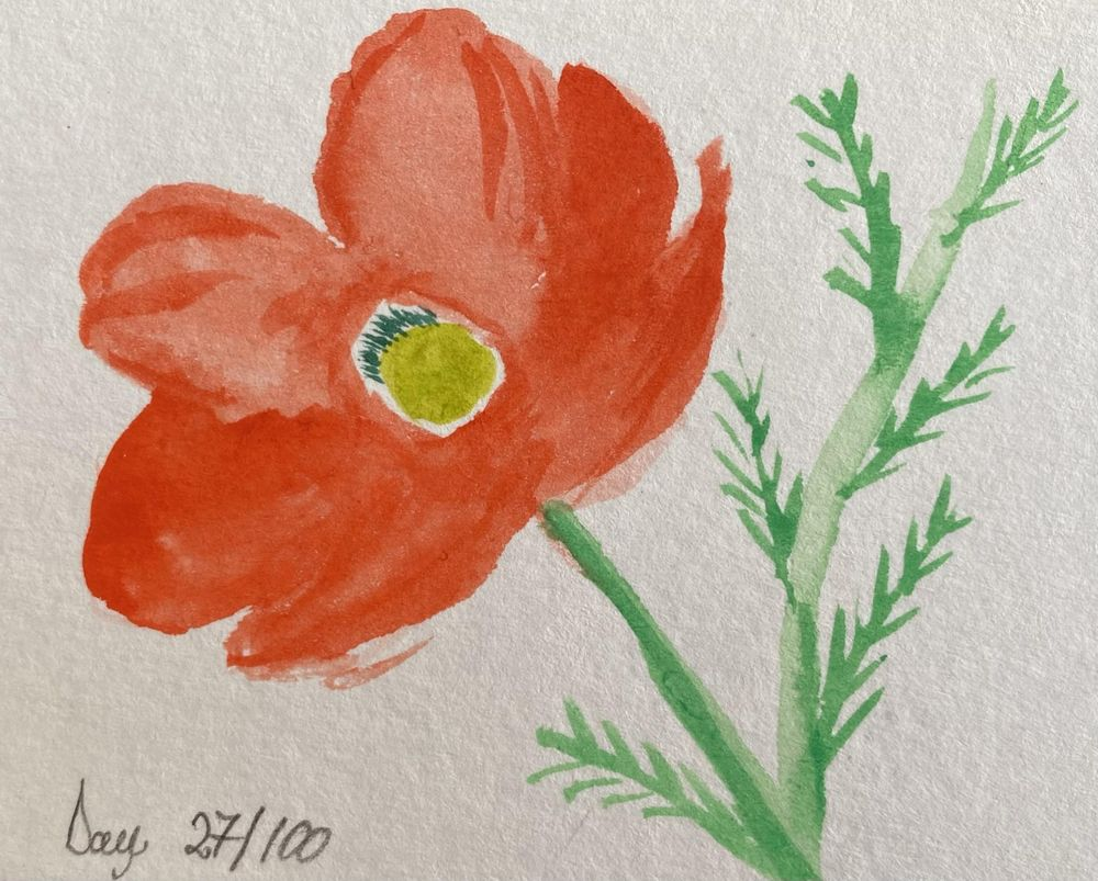 100 Day Watercolor Challenge - image 27 - student project