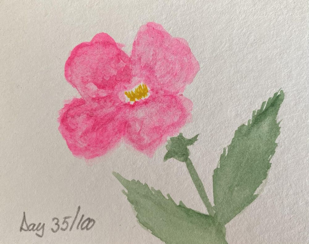 100 Day Watercolor Challenge - image 35 - student project