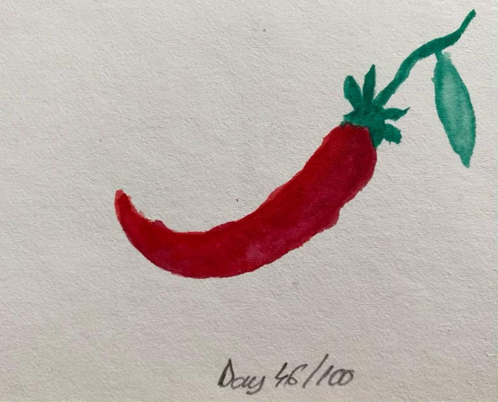100 Day Watercolor Challenge - image 46 - student project