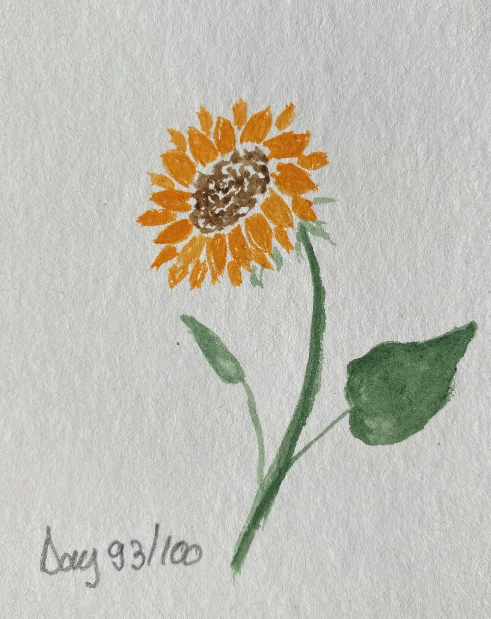 100 Day Watercolor Challenge - image 93 - student project