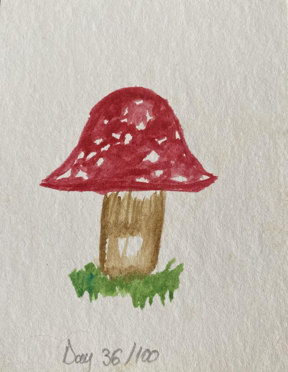 100 Day Watercolor Challenge - image 36 - student project