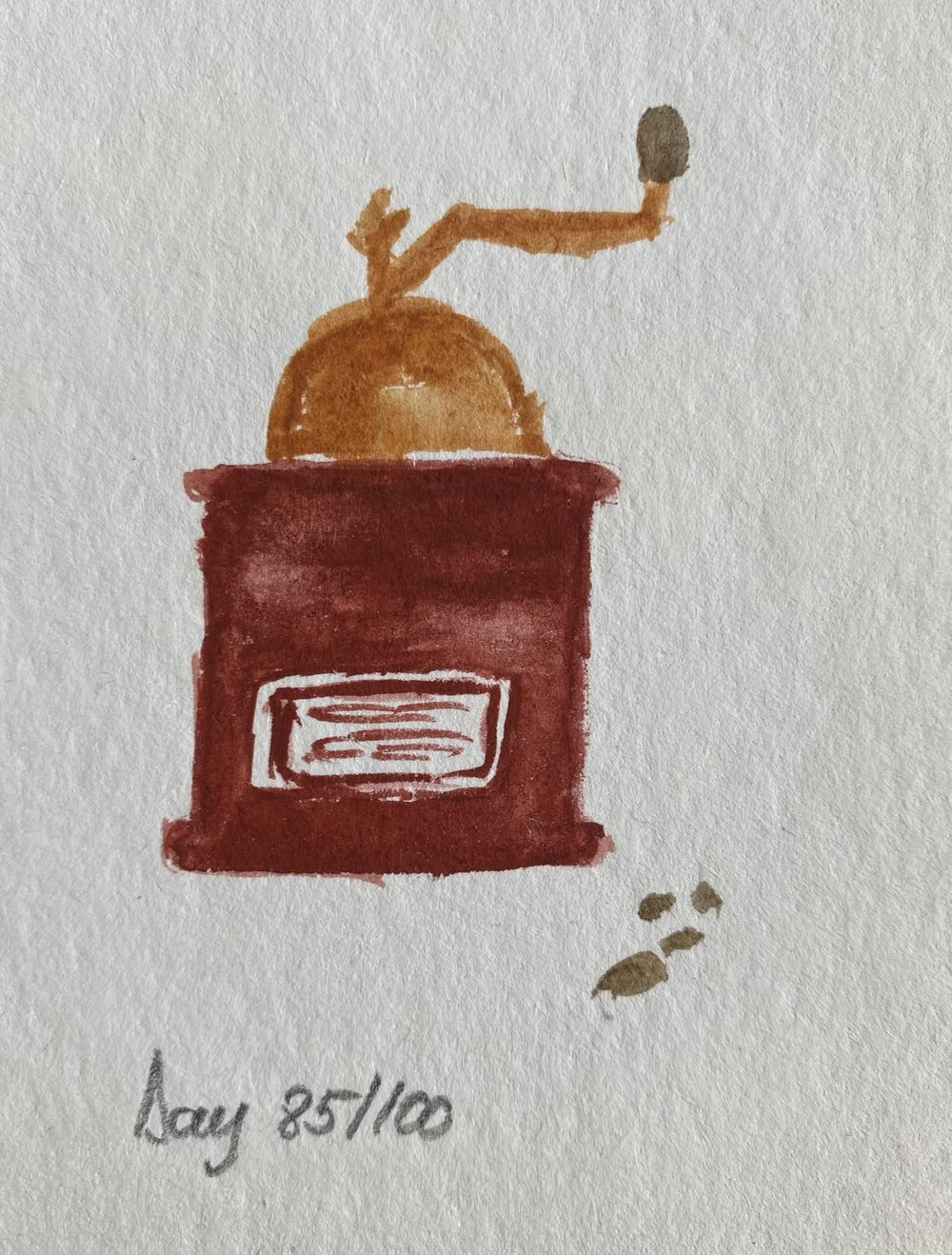100 Day Watercolor Challenge - image 85 - student project