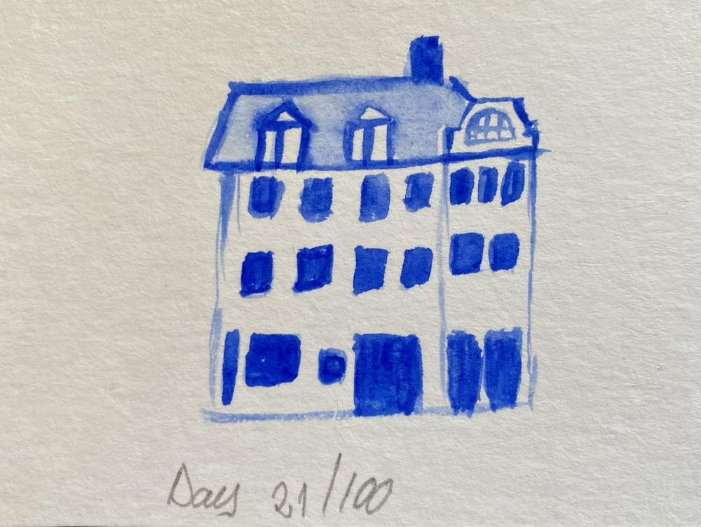 100 Day Watercolor Challenge - image 21 - student project