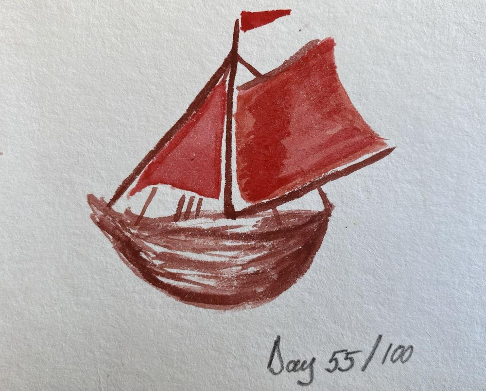 100 Day Watercolor Challenge - image 55 - student project