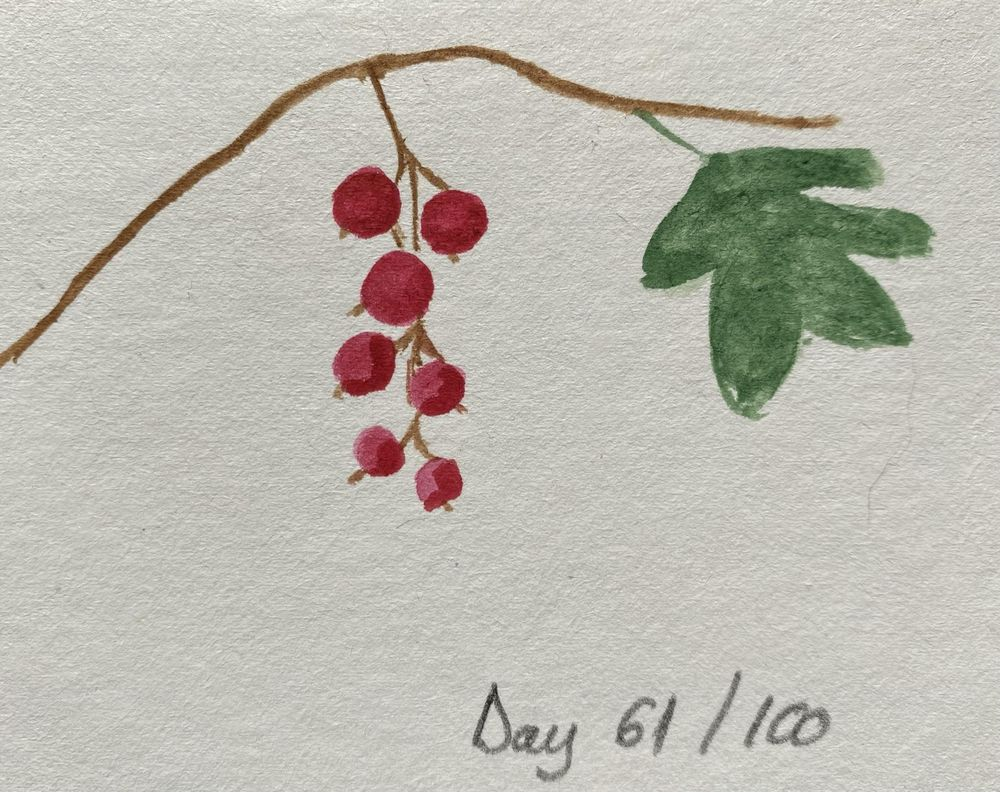 100 Day Watercolor Challenge - image 61 - student project