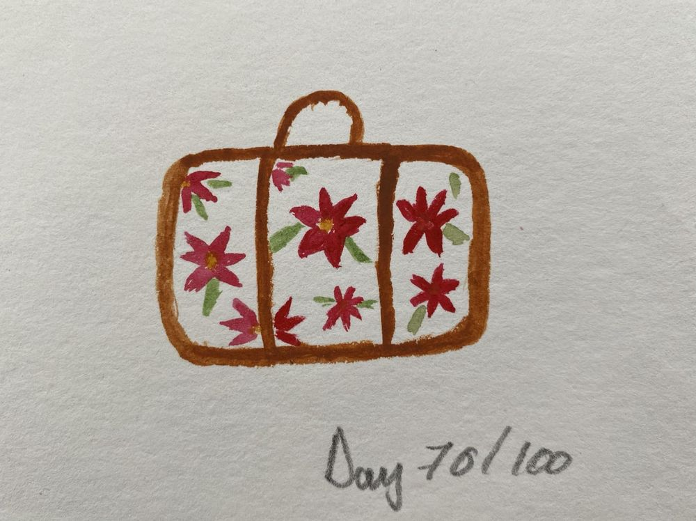 100 Day Watercolor Challenge - image 70 - student project
