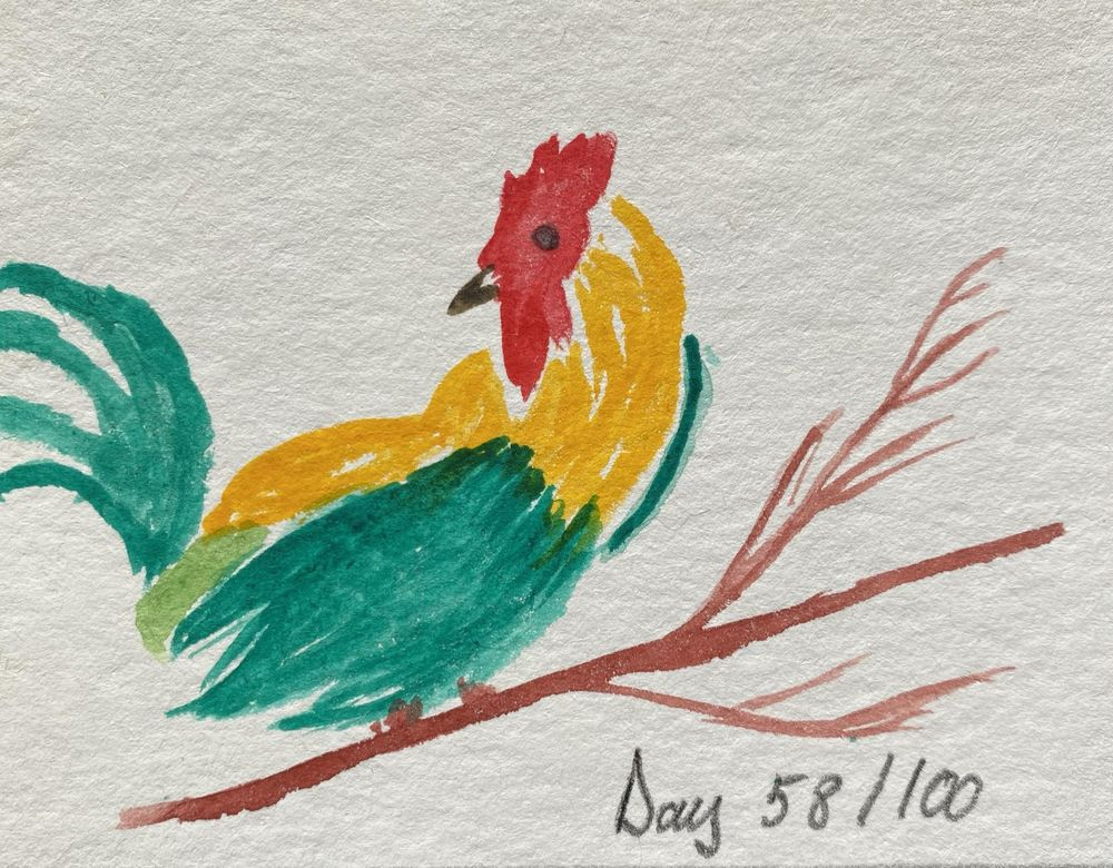 100 Day Watercolor Challenge - image 58 - student project