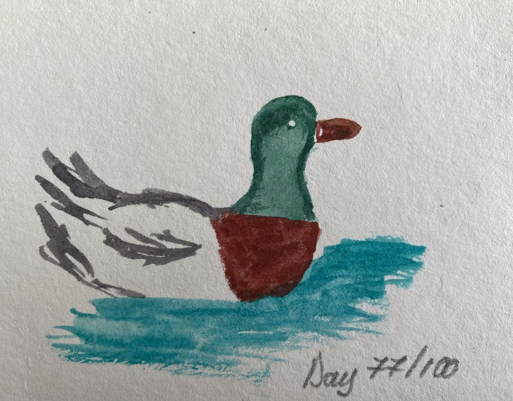 100 Day Watercolor Challenge - image 77 - student project