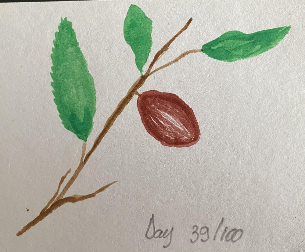 100 Day Watercolor Challenge - image 39 - student project
